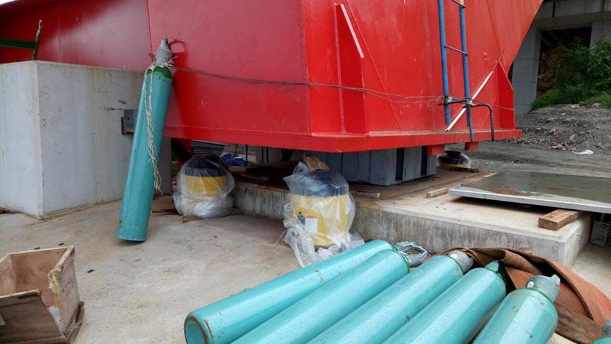 high tonnage lock nut hydraulic cylinder2