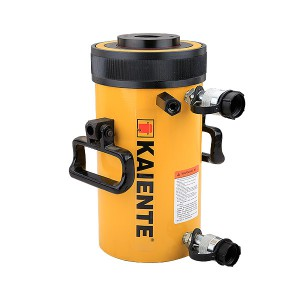 Double Acting Hollow Plunger Hydraulic Cylinder