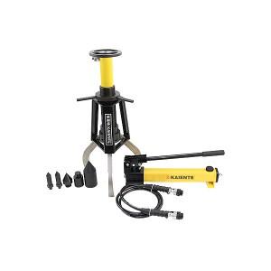 Split-type skid-resistant hydraulic gear puller