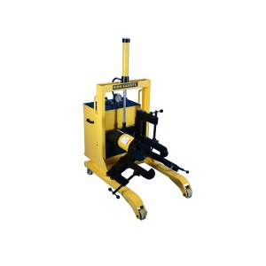 Automatic lifting type electric hydraulic gear puller