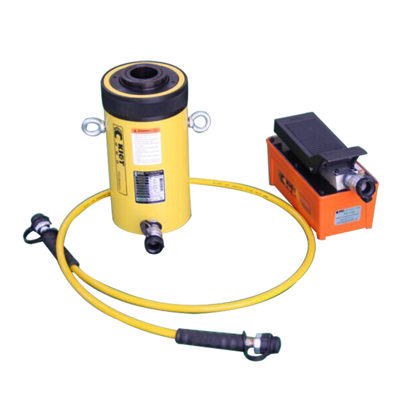 Single Acting Hollow Plunger Hydraulic Cylinder