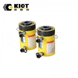 Double Acting High Tonnage Hollow Plunger Hydraulic Cylinder