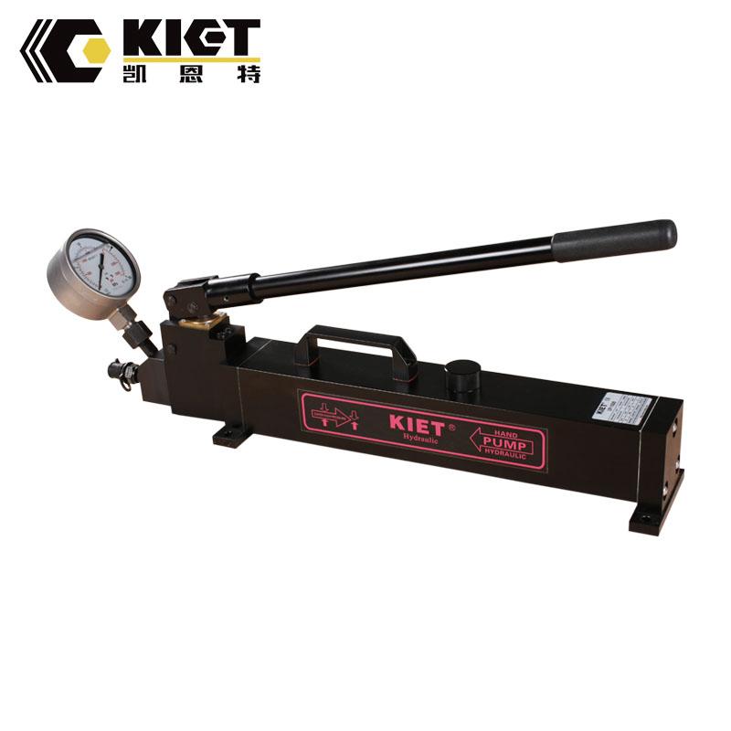 Ultra high pressure hydraulic hand pump