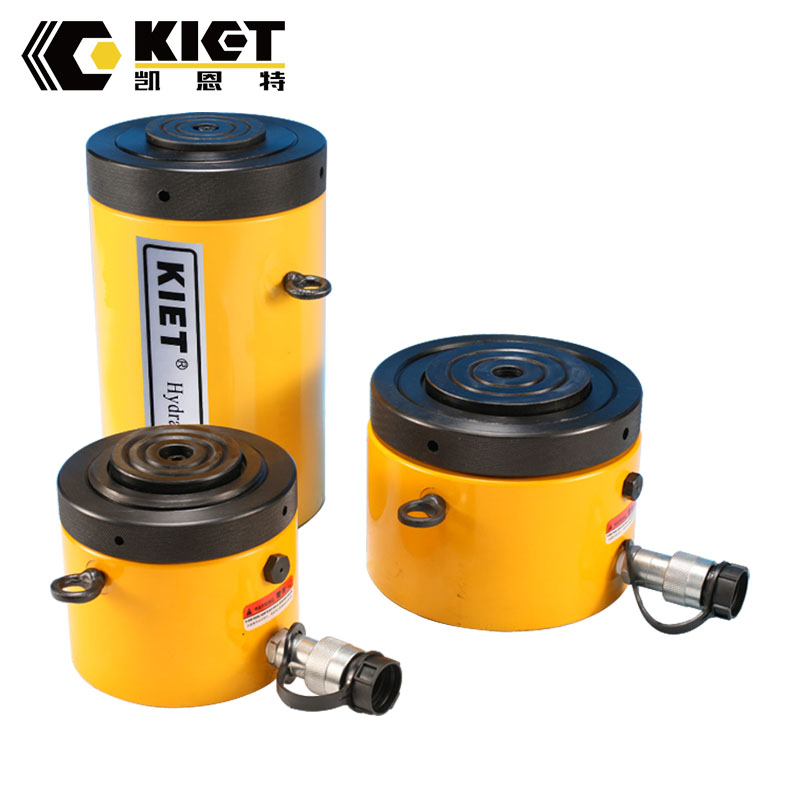 Single Acting Low Height Lock Nut Hydraulic Cylinder Featured Image